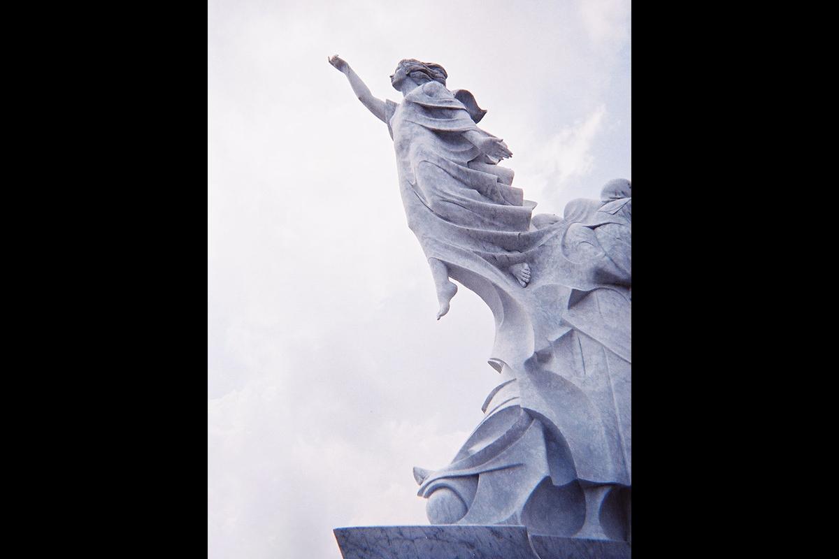 Monumento agli Immigrati, New Orleans, Louisiana, USA, 1993 | Materiale: Bianco Carrara Altezza: 25 Piedi