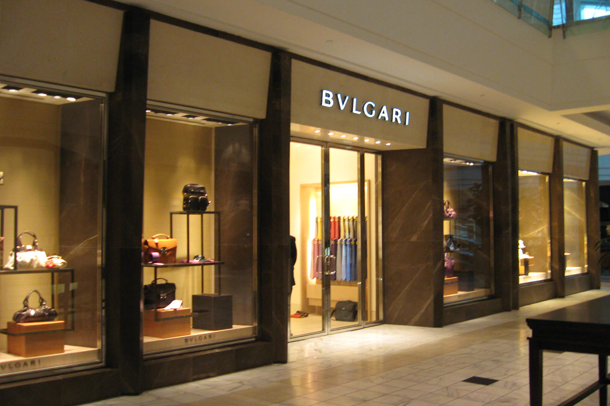 Boutique Bulgari, The Galleria, Houston, Texas, USA | Rivestimento esterno