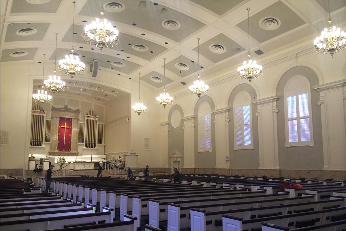 St.Luke United Metodist Church, Houston, Texas, 2016