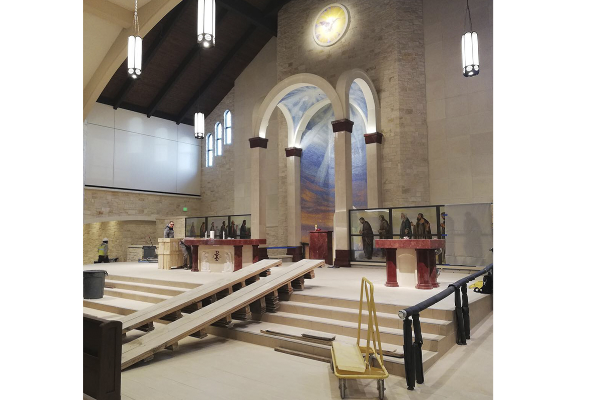 St.Gabriel the Archangel Catholic Church, Mckinney, Texas, 2019 - Sanctuary