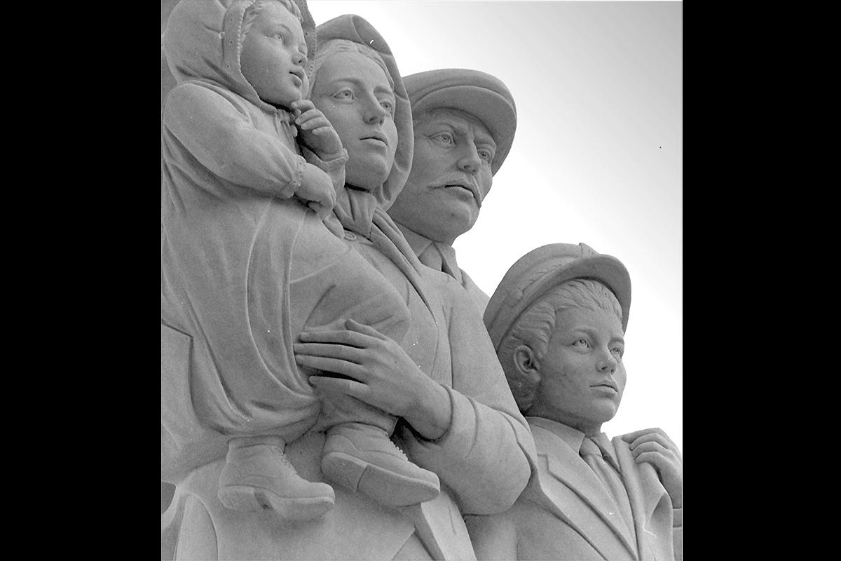 Monumento agli Immigrati New Orleans, Louisiana, USA, 1993 | Materiale: Bianco Carrara Altezza: 25 Piedi