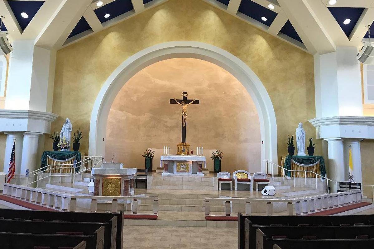 Church of the Incarnation, Rio Rancho, New Mexico, USA, 2015 | Fornitura liturgica