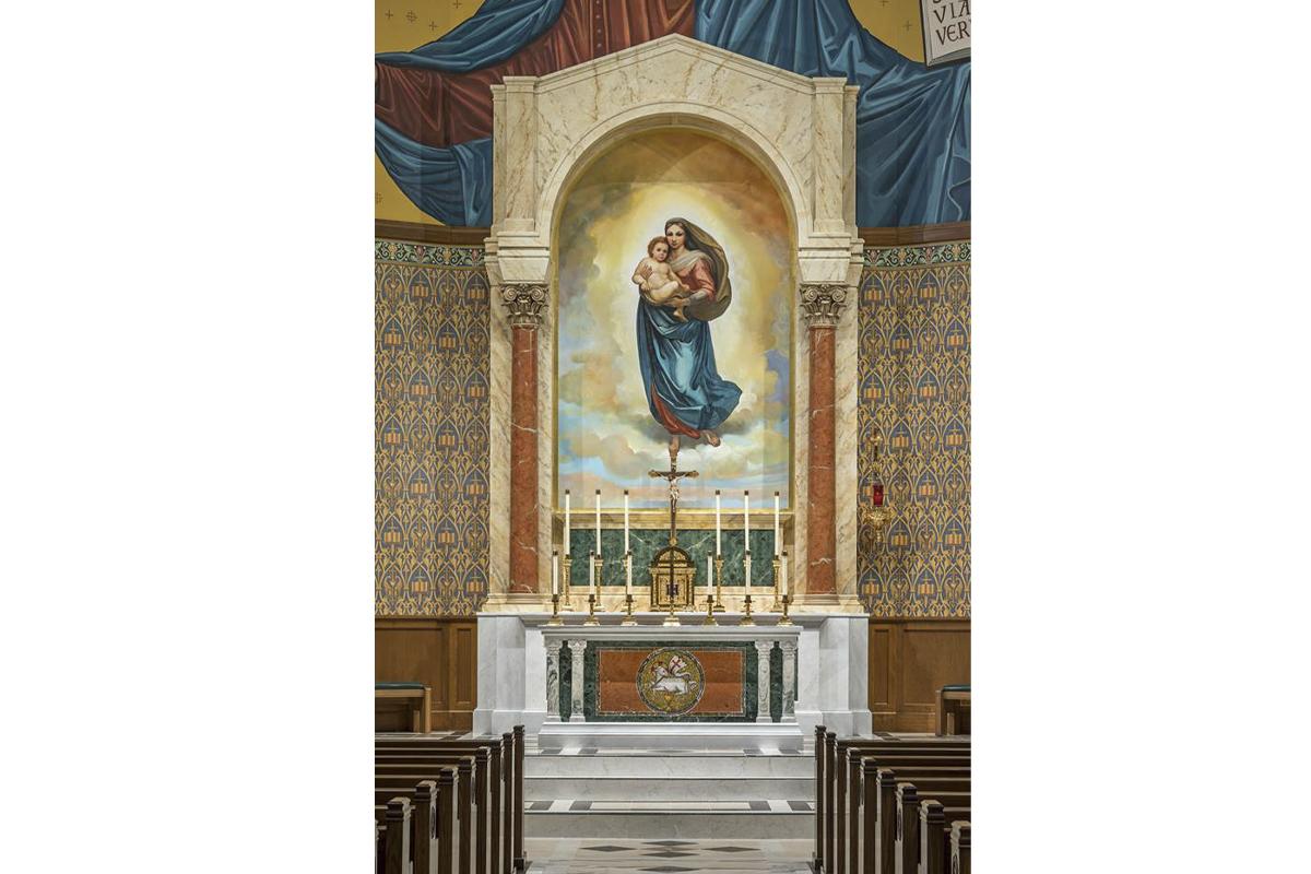 St.Paul University-Catholic Center, Madison, Winsconsin, 2017 - Altar