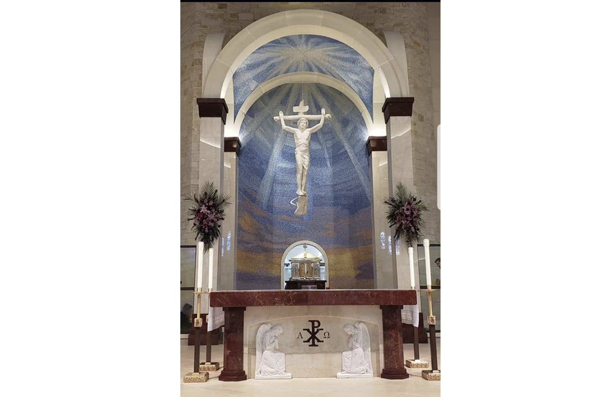 St.Gabriel the Archangel Catholic Church, Mckinney, Texas, 2019 - Sanctuary